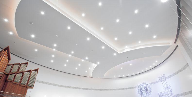 OWAplan integratie verlichting akoestisch plafond