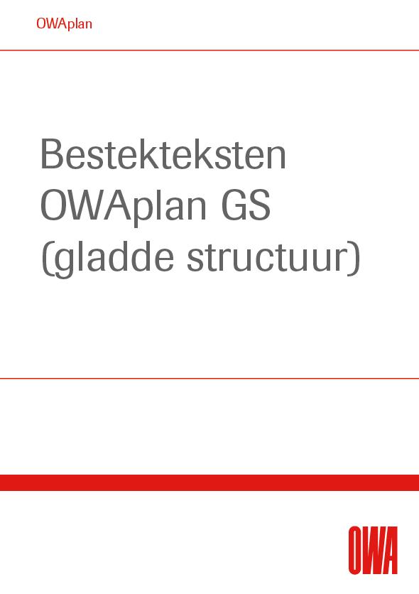 Bestekteksten OWAplan GS